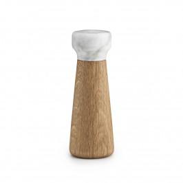 Craft Salzmühle weißer Marmor-Eiche klein