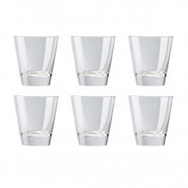 DiVino Whiskeyglas 25cl 6er Pack Klar