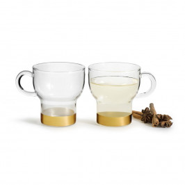 Sagaform Glastasse 2er Pack klein