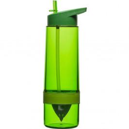 Fresh Flasche mit Zitronenpresse grün