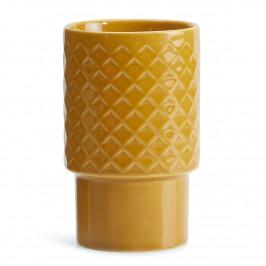Coffe & More Latte Macchiato Becher gelb