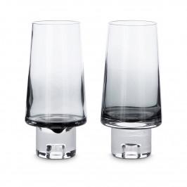 Tank Wasserglas hoch 2er Pack Schwarz