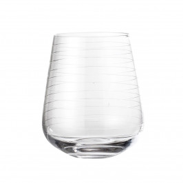 Bloomingville Wasserglas konisch Glas klar