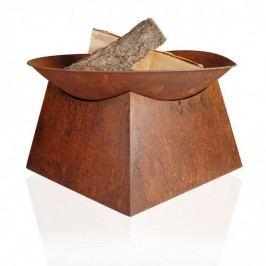 Stahl-Feuerschale SEATLLE, Durchmesser: 57 cm, moderne Feuerschale, Feuerstelle, Garten, Grillschale, Feuerschale aus Stahl
