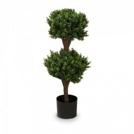 Buchsbaum Kunstpflanze PHILIPP 90 aus Kunststoff, Kunstbaum, Buxbaum, Höhe: 90 cm