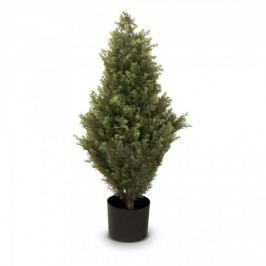 Zypresse Kunstpflanze BASTIAN 90 aus Kunststoff, Kunstbaum, Buxbaum, Höhe: 90 cm