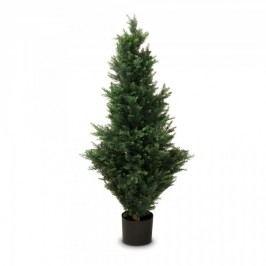 Zypresse Kunstpflanze BASTIAN 120 aus Kunststoff, Kunstbaum, Buxbaum, Höhe: 120 cm