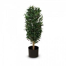 Olivenbaum Kunstpflanze MARTIN 90 aus Kunststoff, Kunstbaum, Höhe: 90 cm