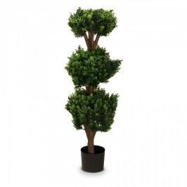 Buchsbaum Kunstpflanze PHILIPP 120 aus Kunststoff, Kunstbaum, Buxbaum, Höhe: 120 cm