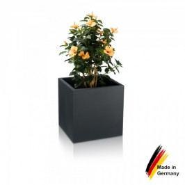 Pflanzgefäß CUBO 50 Kunststoff Blumenkübel Pflanztopf Pflanzbehälter Blumentopf, Maße: 50x50x50 cm, Farbe: anthrazit