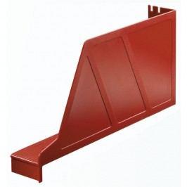 Leitz Stehsammler Standard, Kunststoff, mit Greifausschnitt, A4 quer, 97 x 336 x 156 mm, rot