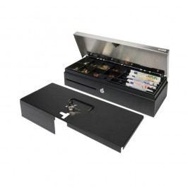 Safescan 3540L abschließbarer Kassenladendeckel aus Stahl; Zwei-Positionen-Schloss; 2-teiliger Schlüsselsatz; kompatibel mit Safescan 3540T