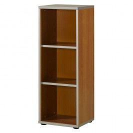 Wellemöbel Modern Pro Regal 3 Ordnerhöhen, 40x115,5x36,2cm, Kirsche