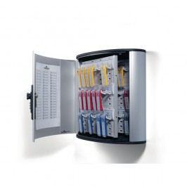 Durable Schlüsselschrank Key Box 36 CODE, Aluminium, Zahlenschloss, für: 36 Schlüssel, 302 x 118 x 208 mm, silbermetallic