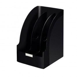 Leitz Stehsammler Jumbo Plus, Polystyrol, mit Griffloch, A4, Füllbreite: 205 mm, 213 x 250 x 321 mm, schwarz
