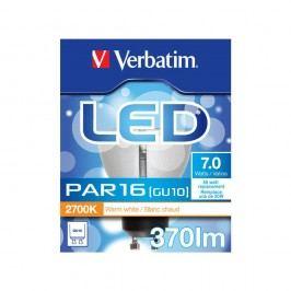 Verbatim LED-Lampe PAR16, 35 °, 7 / 50 W, GU10, 370 lm, warmweiß