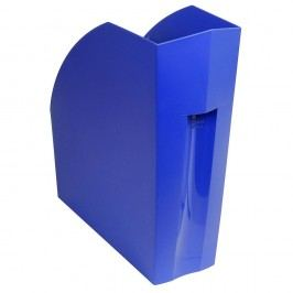 Exacompta Stehsammler The MAGAZINE, mit Greifausschnitt, A4+, 110 x 292 x 320 mm, kobaltblau