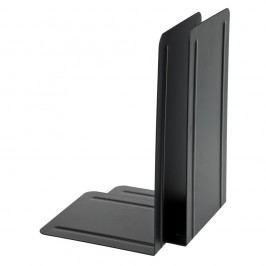 Alco Buchstütze, Metall, 130 x 140 x 240 mm, schwarz