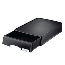 Leitz Schubladenbox (Aufbewahrungsbox) Plus, mit 1 geschlossenen Schublade, A4, 255 x 357 x 70 mm, schwarz