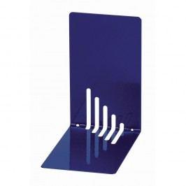 Maul Buchstütze, Metall, schmal, 85 x 140 x 140 mm, 0,8 mm, blau