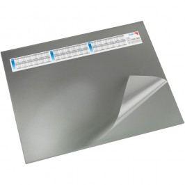 Läufer Schreibunterlage Durella DS, mit Vollsichtauflage, 65 x 52 cm, grau