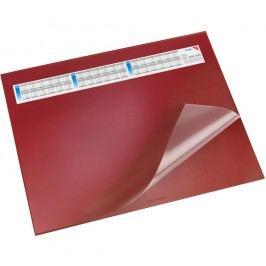 Läufer Schreibunterlage Durella DS, mit Vollsichtauflage, 65 x 52 cm, rot