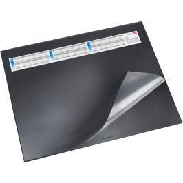 Läufer Schreibunterlage Durella DS, mit Vollsichtauflage, 65 x 52 cm, schwarz