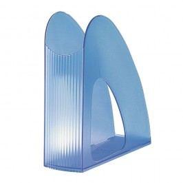 Han Stehsammler TWIN, PS, C4, 76 x 239 x 257 mm, blau, transluzent