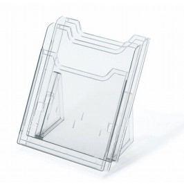 multiform Prospekthalter EXACOMPTA, 2 Fächer, A4 Format hoch, transparent