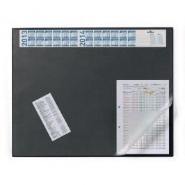 Durable Schreibunterlage, mit Vollsichtauflage, 65 x 52 cm, schwarz