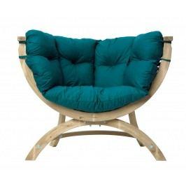 Loungesessel Siena Uno, Stofffarbe green