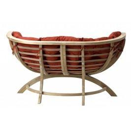 Loungesessel Siena Due, Stofffarbe terracotta