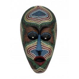 Indonesische Maske klein handbemalt