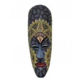Indonesische Maske groß handbemalt