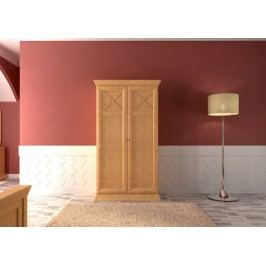 Kleiderschrank 23456-türig Quadro, mit 4x Türen Pinie lipizano