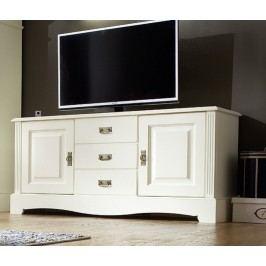 TV-Lowboard Padua 2 Türen und 3 Schubladen, panna
