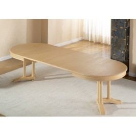 Esstisch oval mit Einlagen vergrößerbar Allegro Pinie massiv, Pinie havanna