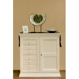 Anrichte sideboard grande holzfront pinie vintage for Kommode quadro