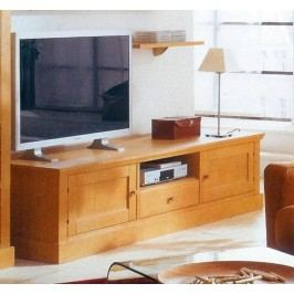 TV-Lowboard Santos Pinie massiv, Pinie lipizano