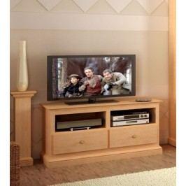 TV-Lowboard Grande Pinie massiv, Pinie havanna