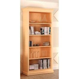 Bücherregal Grande mit 4 Regalfachböden, Pinie vintage