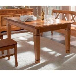 Esstisch Tisch Florenz 140 - 180 x 95 cm, 140 cm feste Platte mit Klappeinlage
