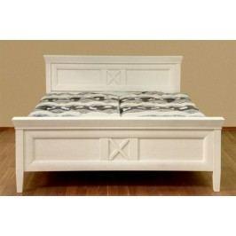 Bett Doppelbett Quadro 140160180200 x 200 cm Pinie massiv, Pinie havanna 180 x 200 cm