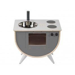 SEBRA® Spielküche Grau Höhe 50cm 3006301