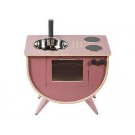 SEBRA® Spielküche Altrosa Höhe 50cm 3006201