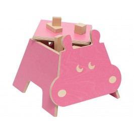 JULICA Zookids Design Kinderhocker Nilpferd Hippo 100501