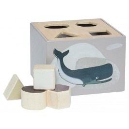 SEBRA® Formensteckspiel aus Holz Arctic Animals 3017204