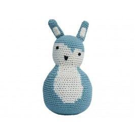 SEBRA® Häkel-Stehaufmännchen Kaninchen Wolkenblau 3012102