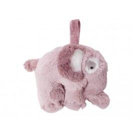 SEBRA® Plüsch-Spieluhr Elefant Altrosa 3013201