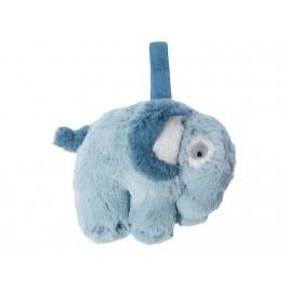 SEBRA® Plüsch-Spieluhr Elefant Wolkenblau 3013101